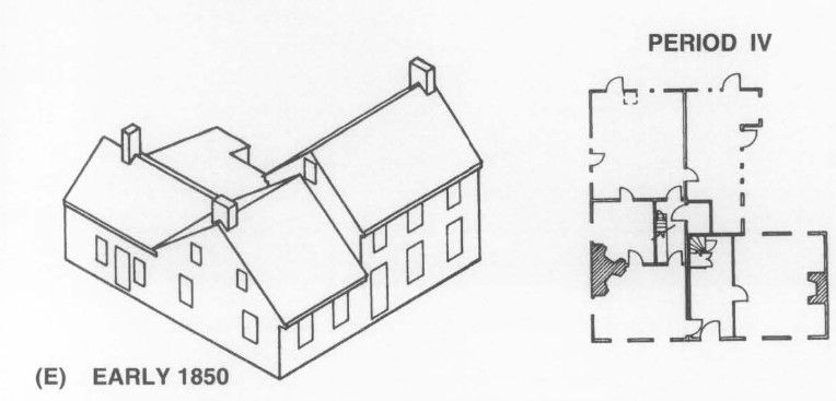18th Century Farmhouse, 1850 Third Addition