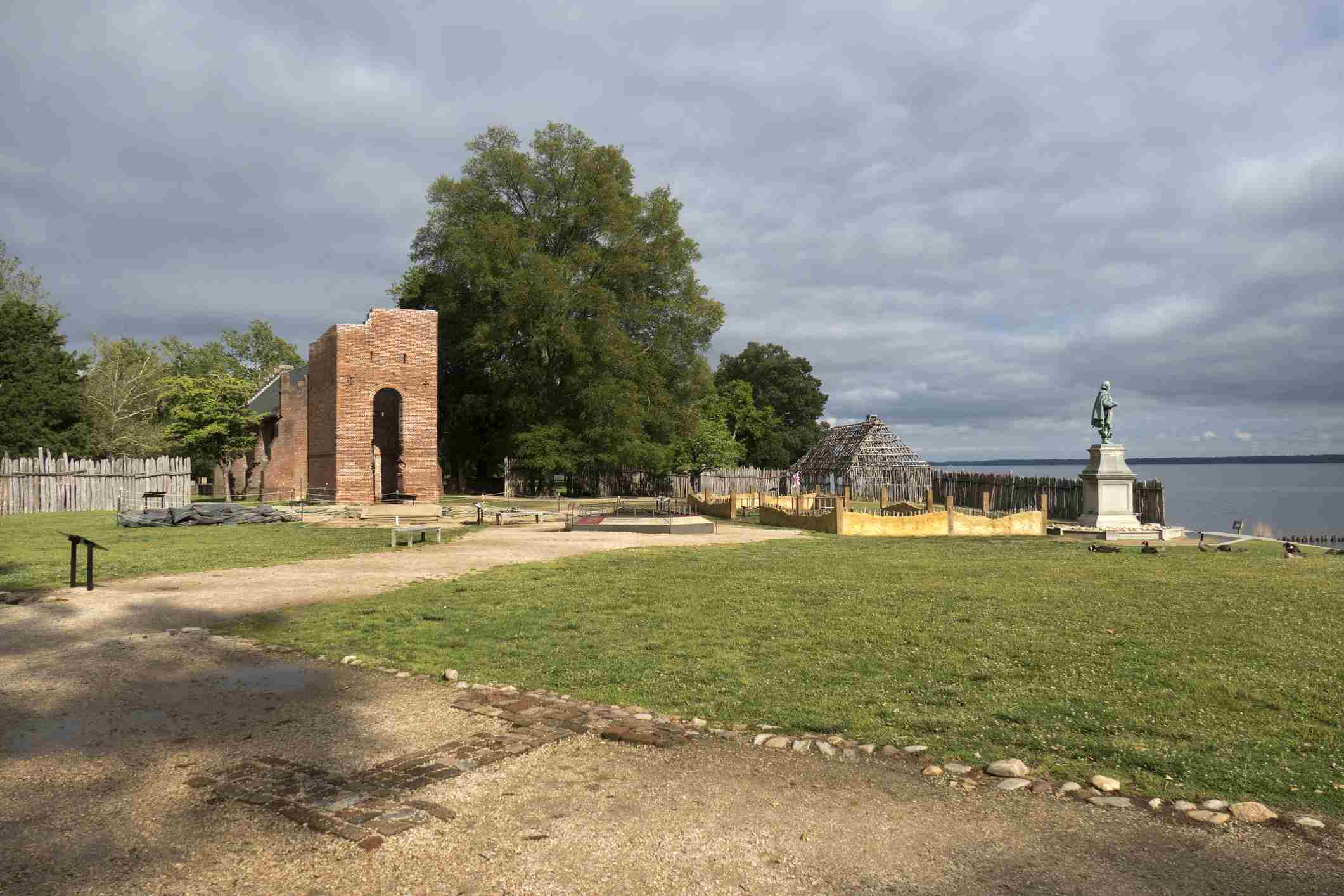 Jamestown Settlement James Fort Site Virginia Colonial National Historical Park