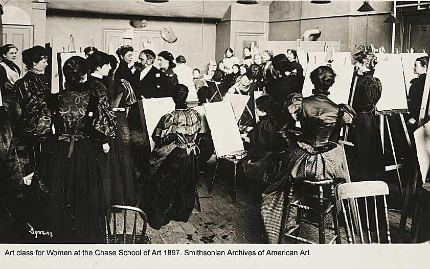 William Merritt Chase Art Class