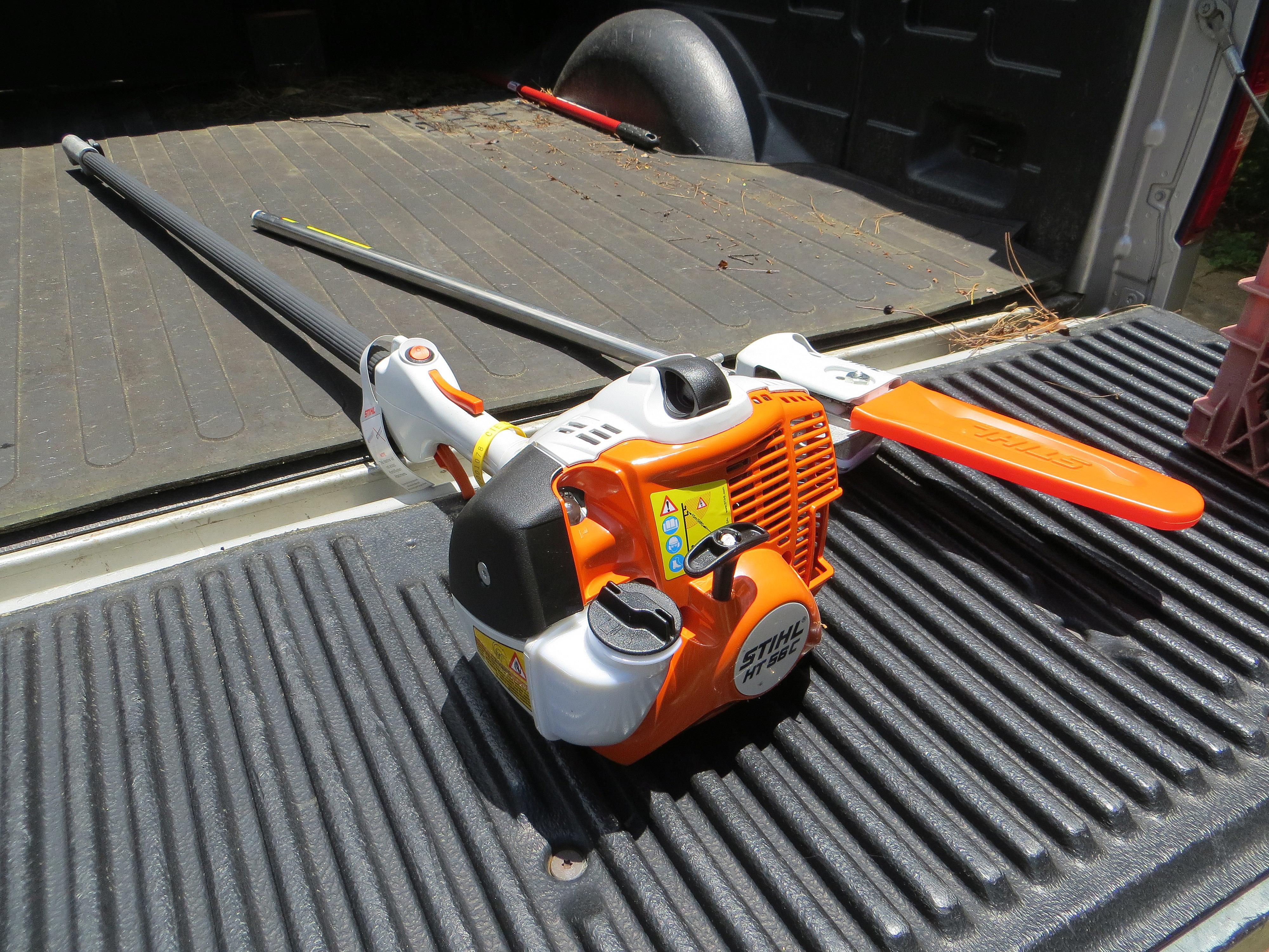 Picking a Gas Operated Pole Chainsaw for tree pruning