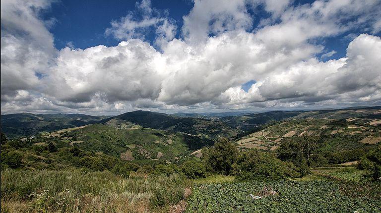 Clouds in Galicia, Spain