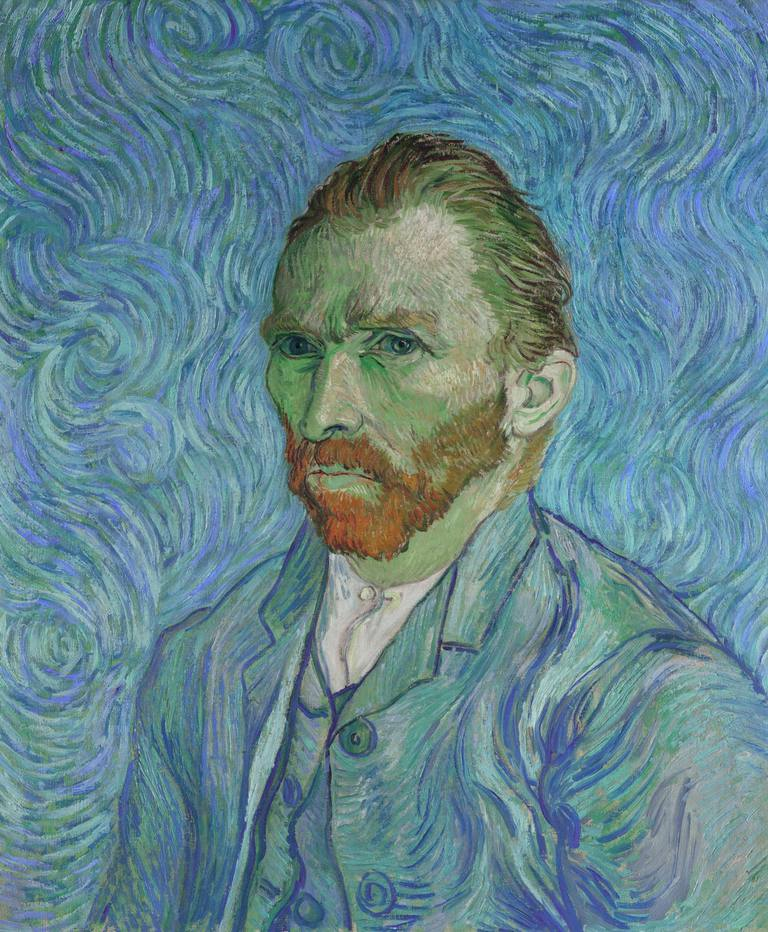 Vincent van Gogh self portrait by the artist
