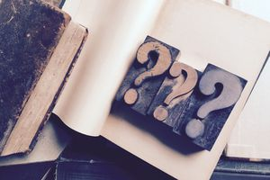 Question marks and other common French punctuation