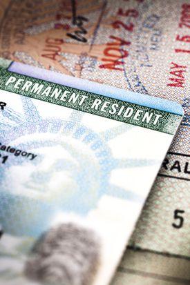 Tarjeta de residencia permanente