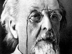 Portrait of Konstantin Tsiolkovsky