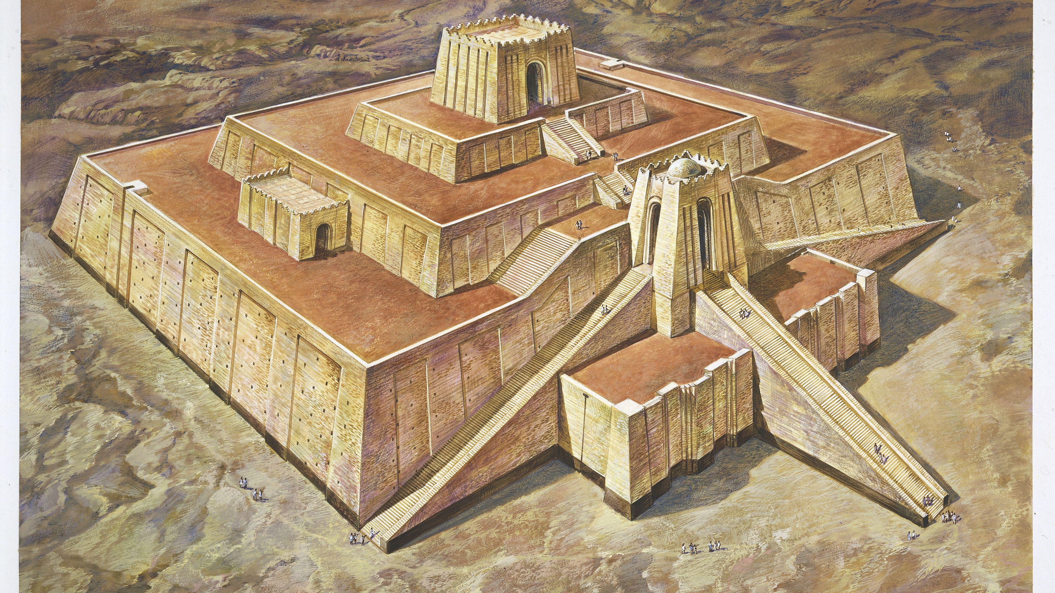 The Ziggurat: Ancient Temple to the Gods