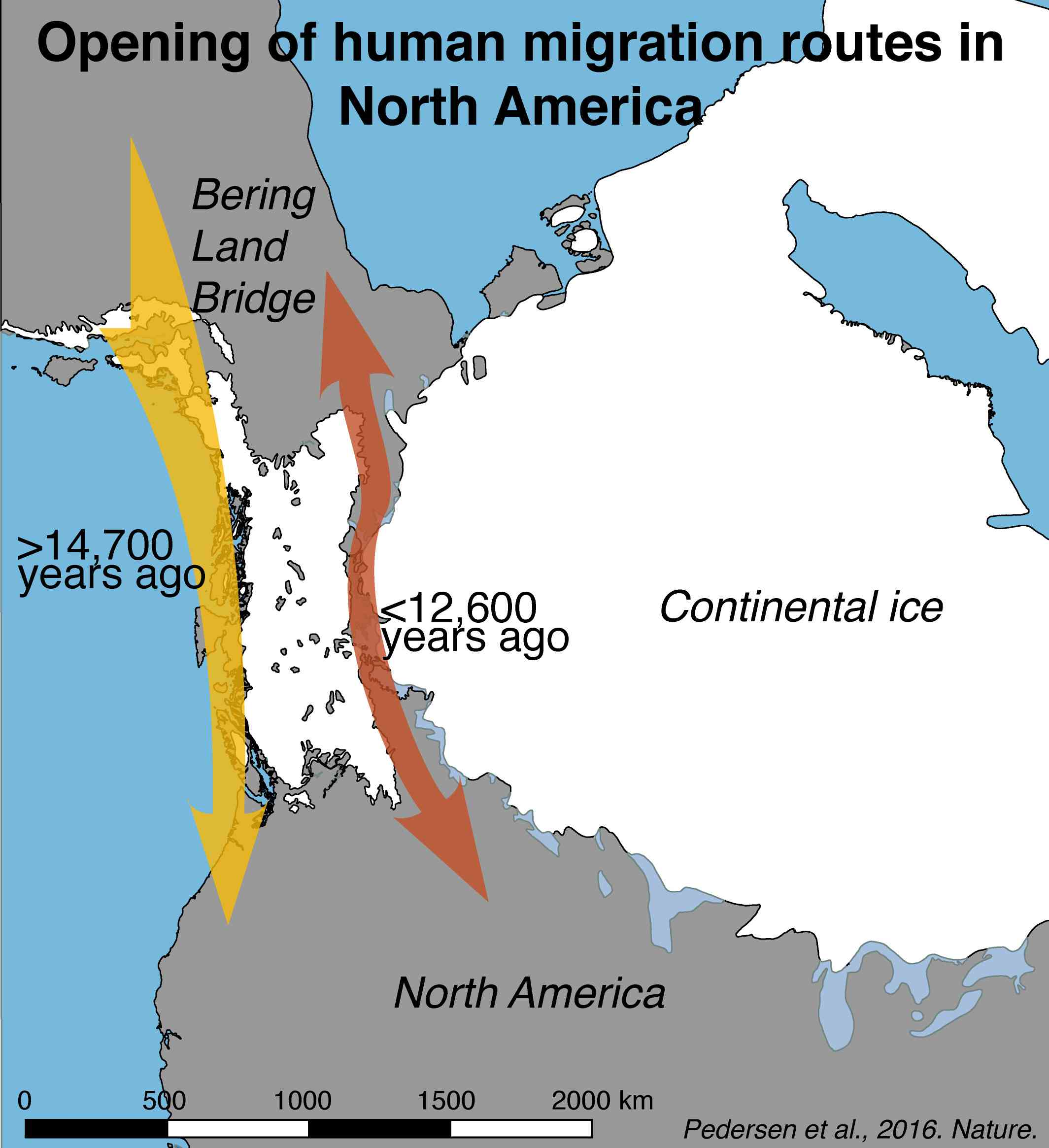 Map of the Ice-Free Corridor