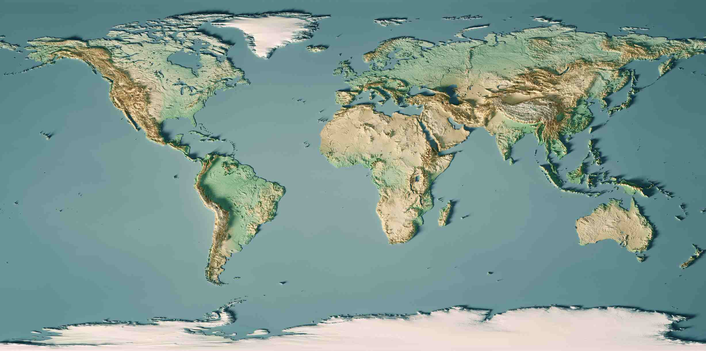 World Map Water.Types Of Maps Topographic Political Climate And More