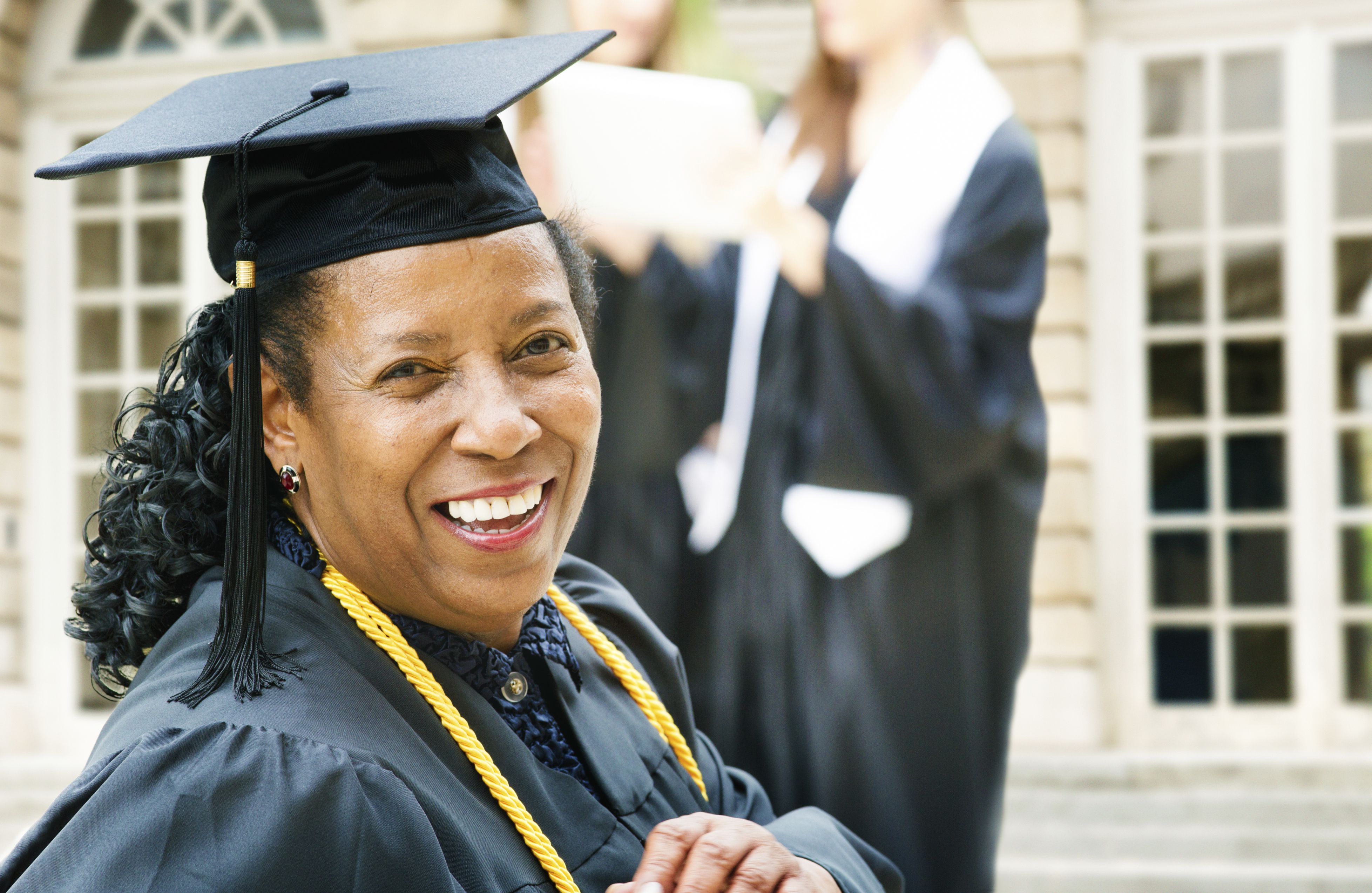 A doctoral degree affords new opportunities