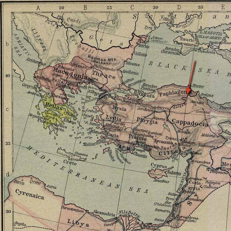 the halys river from a map of macedonian expansion
