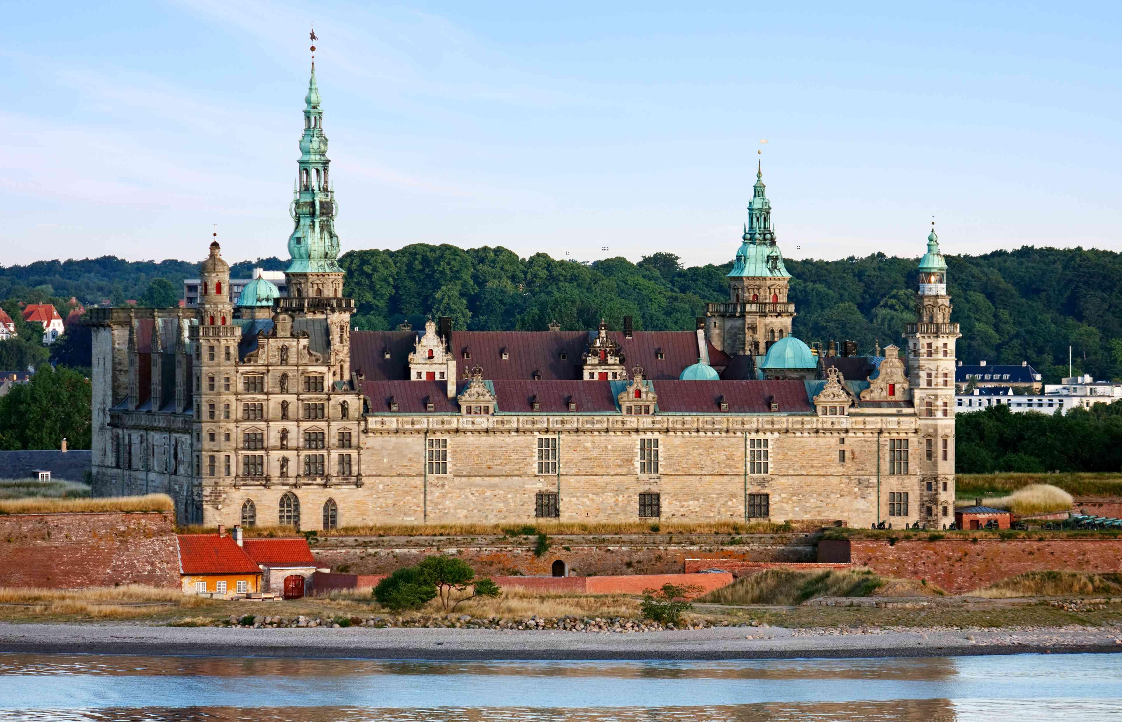 Kronborg Castle at early morning, Denmark