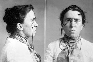 Emma Goldman mug shot