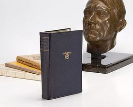 Copy of Mein Kampf personally owned by Adolf Hitler, c. 1932 - Estimated value: $100,000