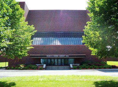 Hosmer Concert Hall at SUNY Potsdam