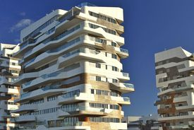 Parametric Design of Hadid Residences, Milano, Italy