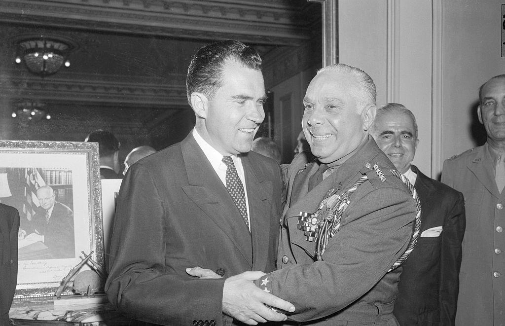 Nixon Visits Dominican Republic, Rafael Trujillo