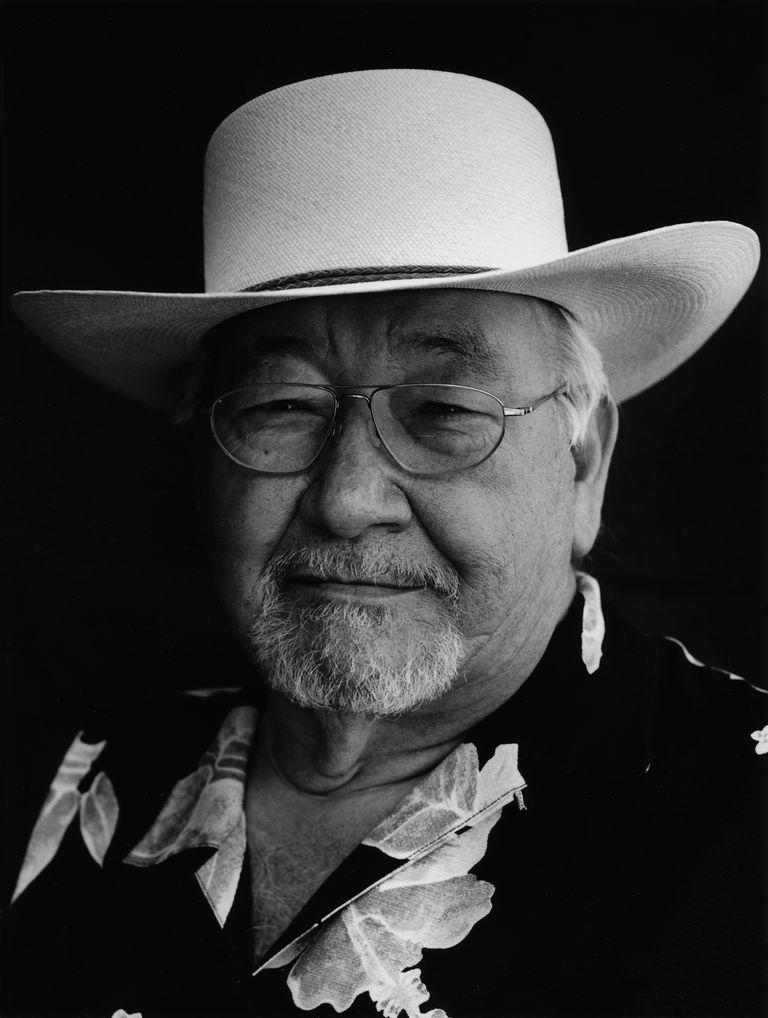 Native American writer N. Scott Momaday