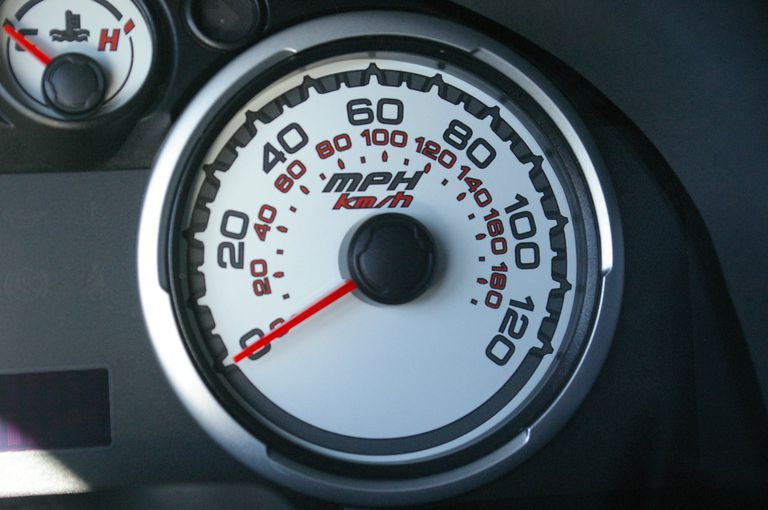 2009 Ford Focus speedometer