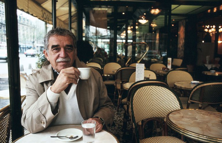 Gabriel García Márquez in Paris, France 1990