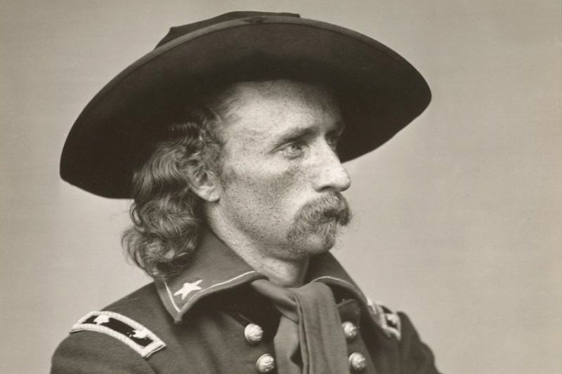 Portrait of George A. Custer