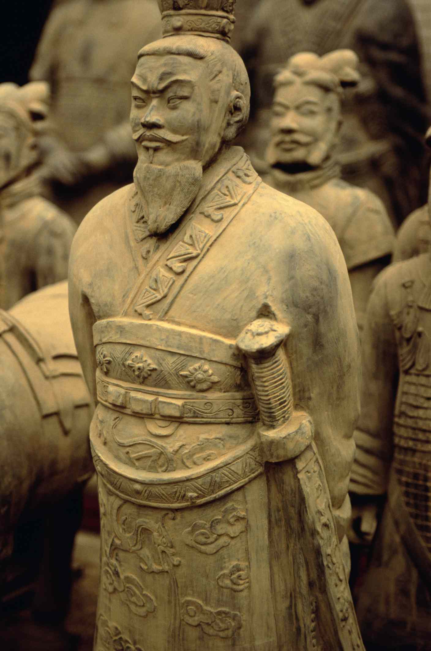 Terracotta soldiers weapons