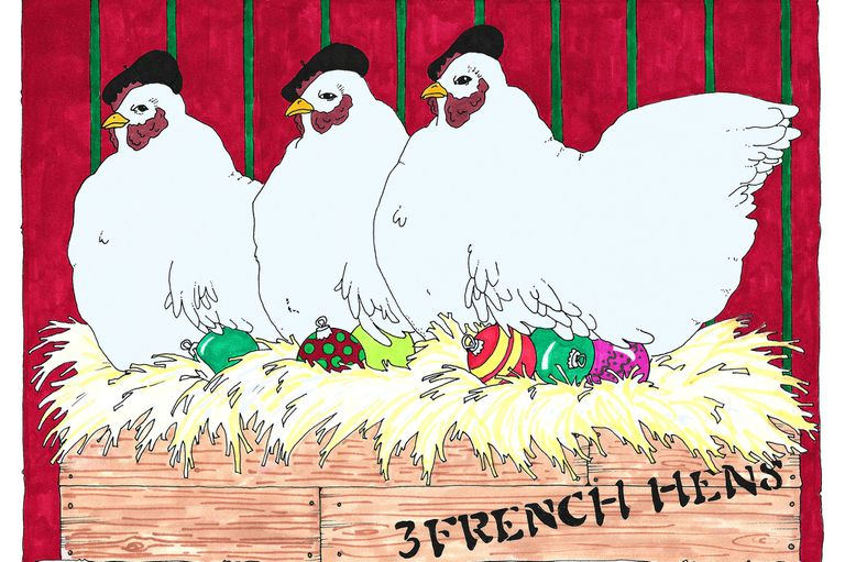 3 French Hens