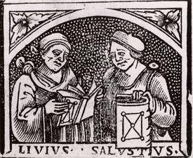 Ancient Roman historians Sallust and Livy