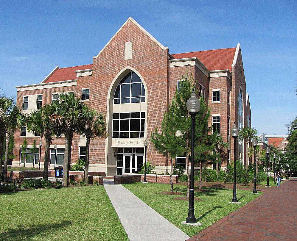 Pugh Hall at the University of Florida