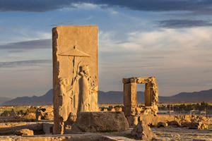 Xerxes at Persepolis