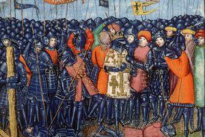 Crusaders at Hattin