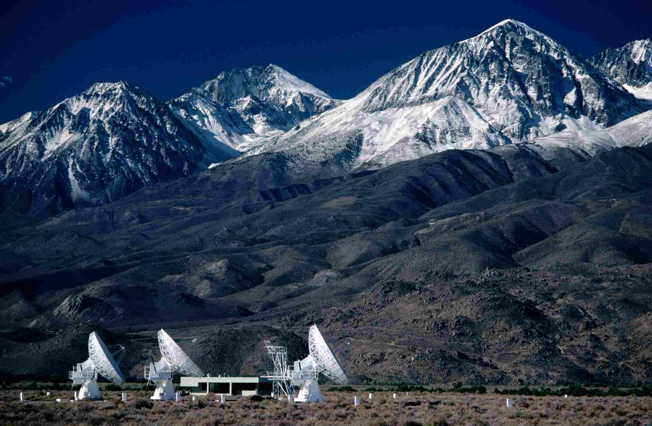 Radio telescopios de CALTECH.