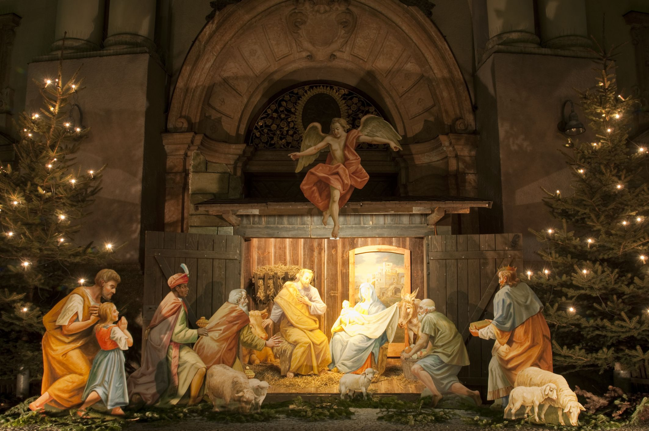 First Nativity Scene: Saint Francis Christmas History