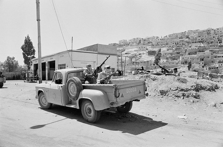 PLFP Soldiers in Amman 1970