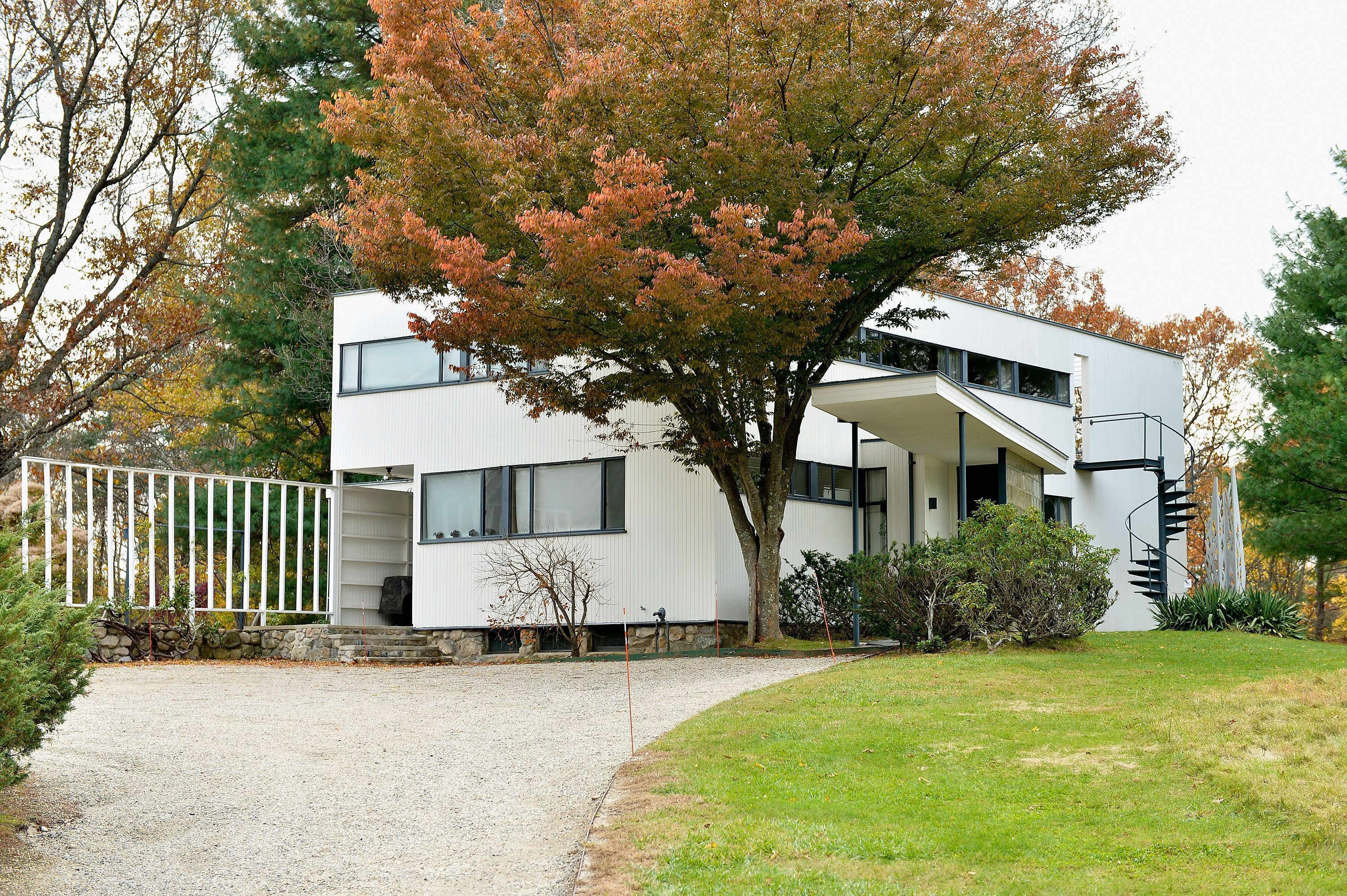 Modern 20th Century Residential Architecture on