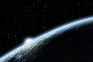 Sunrise Over Earth