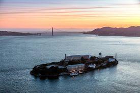 Alcatraz prison in San Francisco