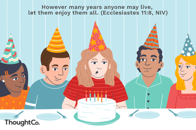 10 Bible Verses To Wish Someone A Happy Birthday