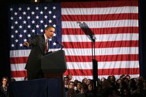 Obama Speaks at DNC Fundraiser in Chicago