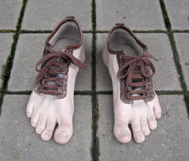 598e67cce Hilarious Footwear So Ugly It Makes Crocs Look Good