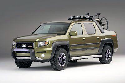 custom honda ridgeline pickup trucks at the sema show. Black Bedroom Furniture Sets. Home Design Ideas