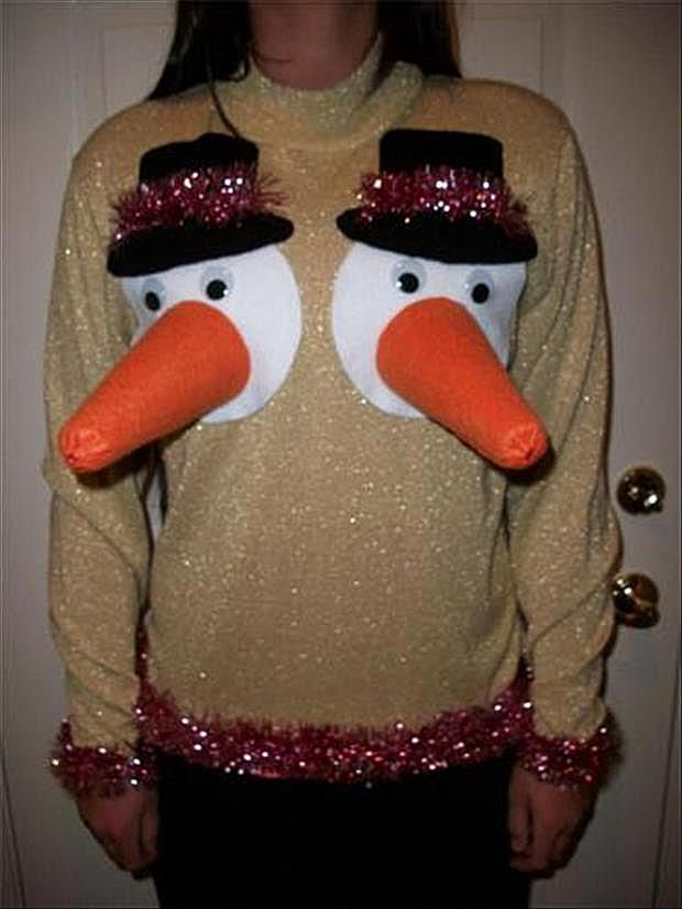 20 funny and weird ugly christmas sweaters