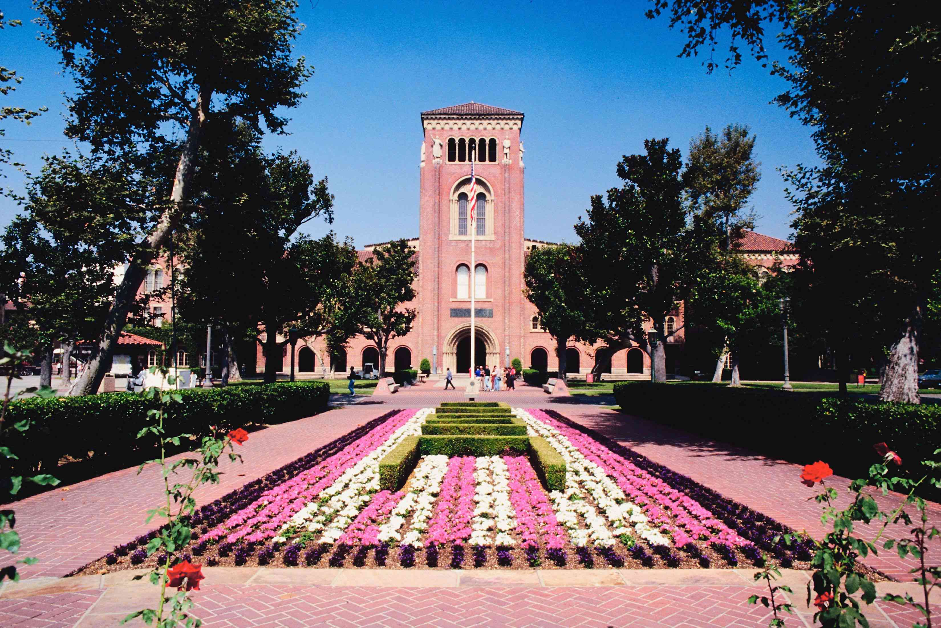 University of Southern California campus, Los Angeles, California, USA