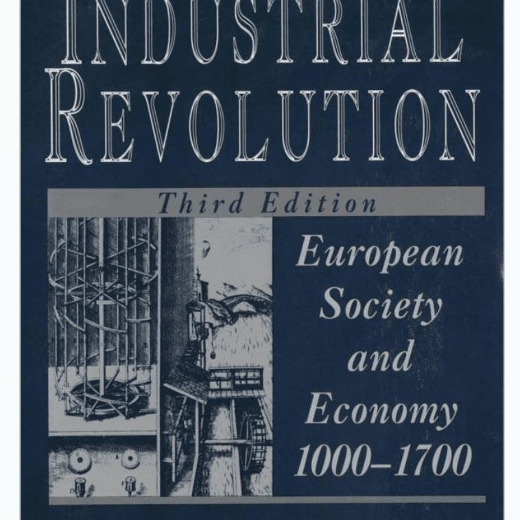 Antes de la revolución industrial: sociedad y economía europeas