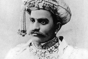 The Maharaja of Mysore, 1920.