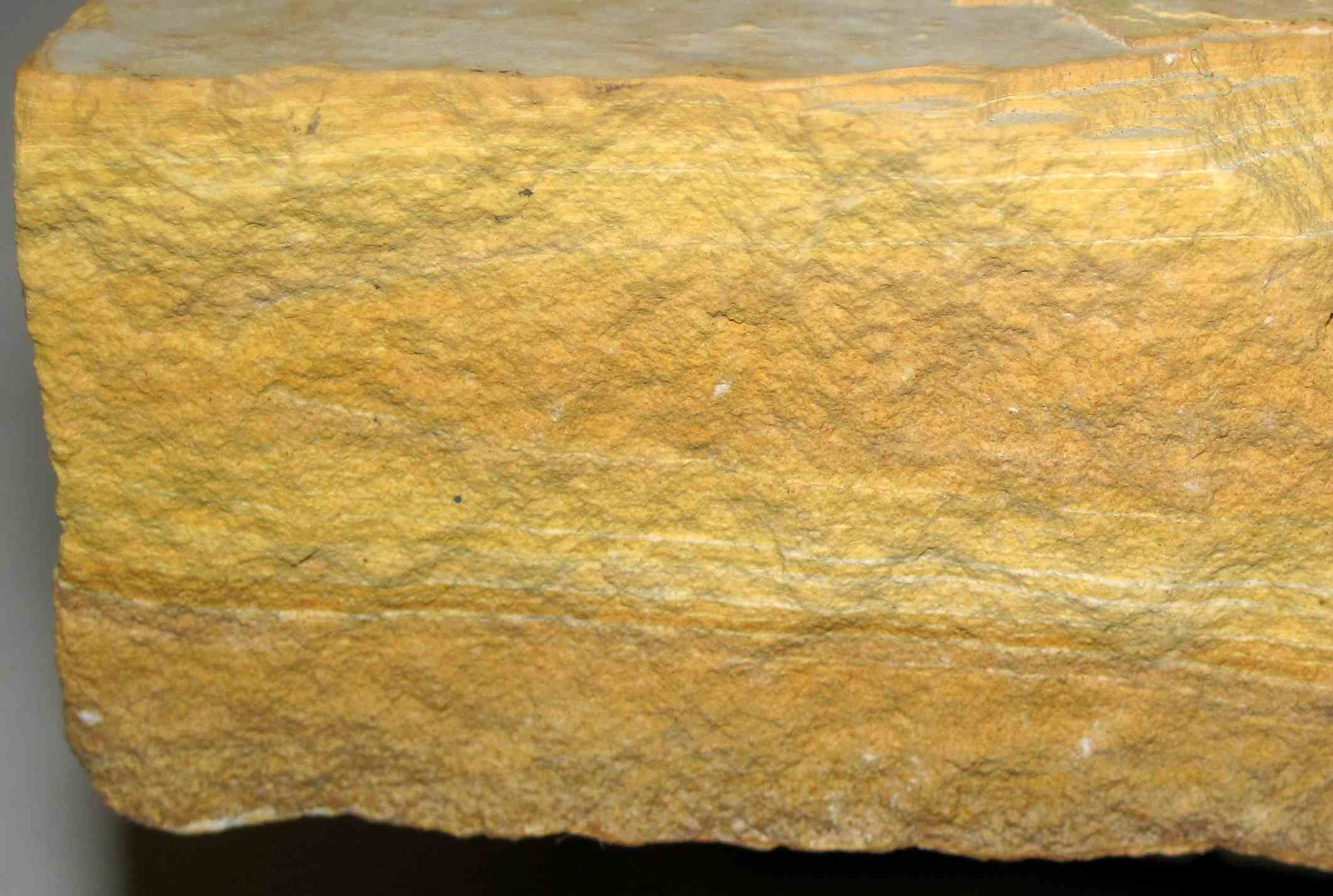 Large ashfall tuff rock.