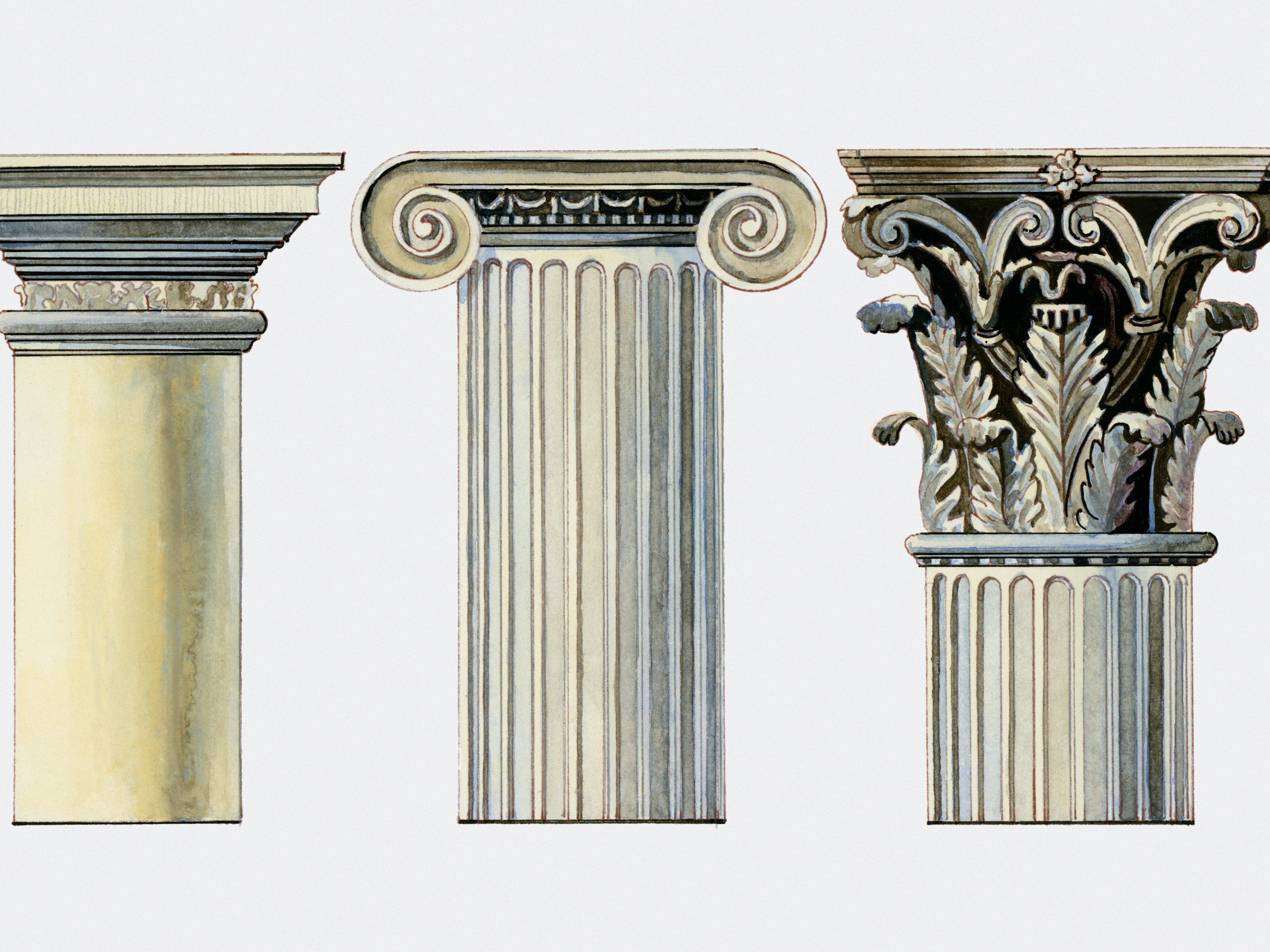 Popular Column Types From Greek to Postmodern