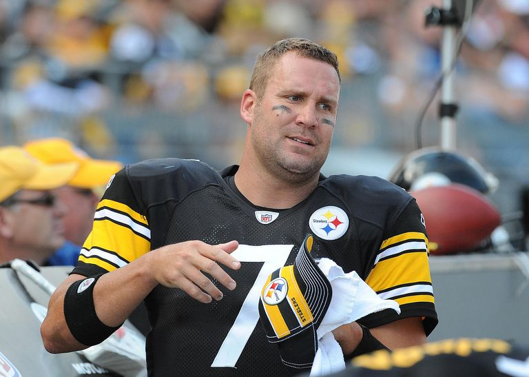 Ben Roethlisberger, quarterback Pittsburgh Steelers