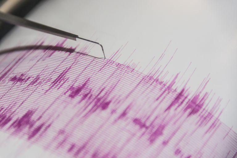 Seismometer taking readings