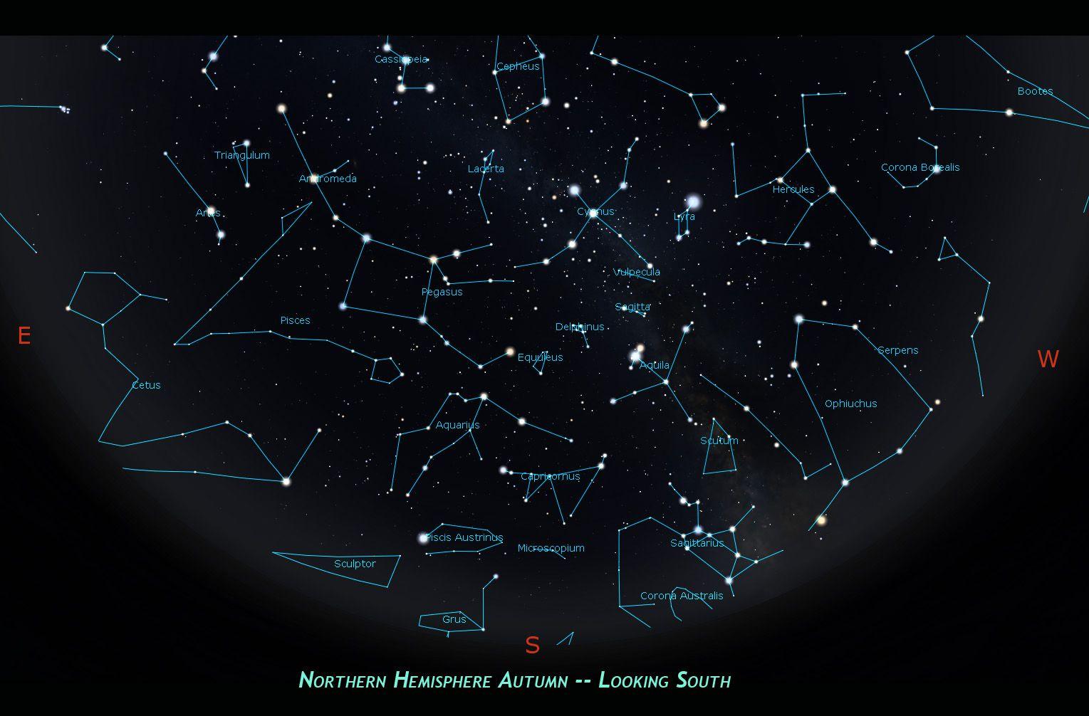 под копирку все созвездия фото и названия солнечной системы несколько