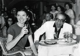 Aristotle Onassis and Jacqueline Kennedy Onassis